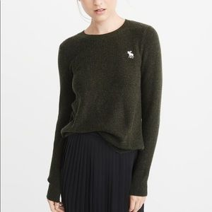 Abercrombie & Fitch Icon Shaker Crew Sweater